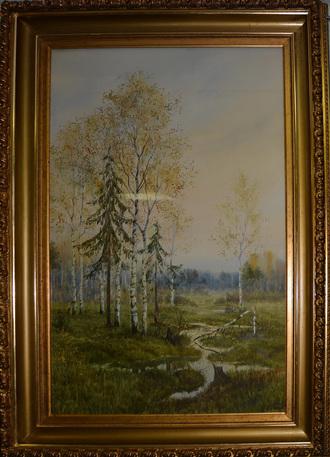 """""""Лесной пейзаж"""" С.И. Пишо"""